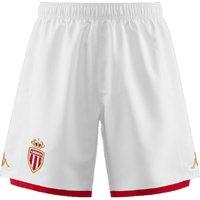 2019-2020 Monaco Kappa Home Shorts (White)