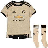 2019-2020 Man Utd Adidas Away Little Boys Mini Kit