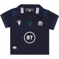2019-2020 Scotland Macron Home Rugby Baby Shirt