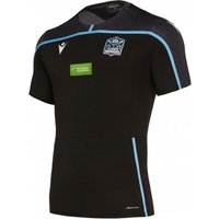 2019-2020 Glasgow Warriors Rugby Poly Gym Tee (Black)