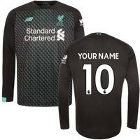 2019-2020 Liverpool Third Long Sleeve Shirt (Your Name)