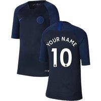 2019-2020 Chelsea Nike Training Shirt (Obsidian) (Your Name)
