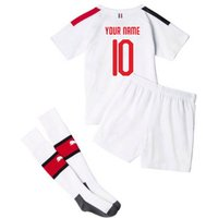 2019-20 Ac Milan Away Mini Kit (your Name)