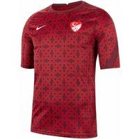 Image of 2020-2021 Turkey Nike Pre-Match Training Shirt (Red)