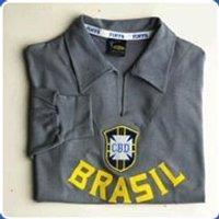 Brazil Goalkeeper Grey