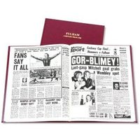 Fulham FC Newspaper Book