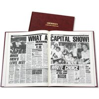 Aberdeen Football Newspaper Book