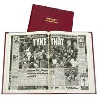 Barnsley Football Newspaper Book