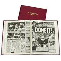 Bradford City Football Newspaper Book