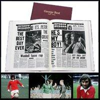 George Best Football Newspaper Book