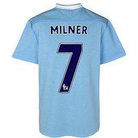 2011-12 Manchester City Umbro Home Shirt (Milner 7)