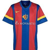 2011-12 FC Basle Nike Home Football Shirt
