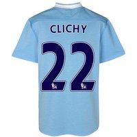 2011-12 Manchester City Umbro Home Shirt (Clichy 22)