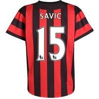 2011-12 Manchester City Umbro Away Shirt (Savic 15)
