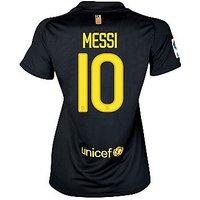 2011-12 Barcelona Nike Womens Away Shirt (Messi 10)