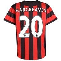 2011-12 Manchester City Umbro Away Shirt (Hargreaves 20)