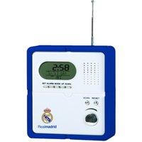Real Madrid Radio With Clock