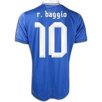 2012-13 Italy Home Shirt (R.Baggio 10) - Kids