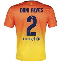 2012-13 Barcelona Nike Away Shirt (Dani Alves 2)
