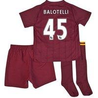 2012-13 Man City Umbro Away Mini Kit (Balotelli 45)