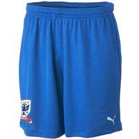 2012-13 Airdrie United Puma Away Shorts (Blue) - Kids