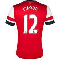 2012-13 Arsenal Nike Home Shirt (Giroud 12) - Kids