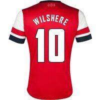 2012-13 Arsenal UCL Home Shirt (Wilshere 10)