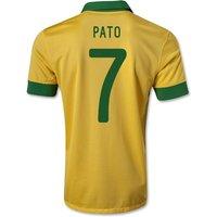 2013-14 Brazil Home Shirt (Pato 7)