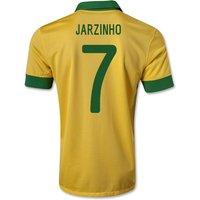 2013-14 Brazil Home Shirt (Jarzinho 7) - Kids