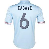 2013-14 France Away Shirt (Cabaye 6)