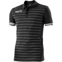 Macron Jungle Polo Shirt (black)