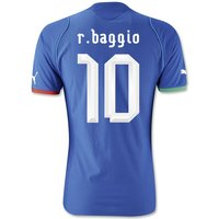 2013-14 Italy Home Shirt (R.Baggio 10) - Kids