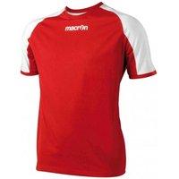 Macron Amber T-Shirt (red)