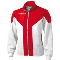 Macron Tanatos Tracksuit Jacket (white-red)