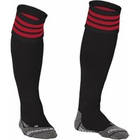 Stanno Ring Football Socks (black-red)