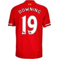2013-14 Liverpool Home Shirt (Downing 19) - Kids