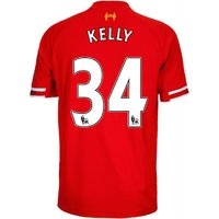 2013-14 Liverpool Home Shirt (Kelly 34) - Kids