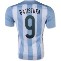 2015-16 Argentina Home Shirt (batistuta 9) - Kids