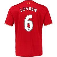 2015-16 Liverpool Home Shirt (Lovren 6) - Kids