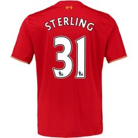 2015-16 Liverpool Home Shirt (Sterling 31) - Kids
