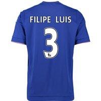 2015-16 Chelsea Home Shirt (Filipe Luis 3) - Kids