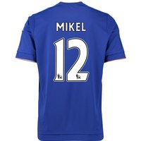 2015-16 Chelsea Home Shirt (Mikel 12) - Kids