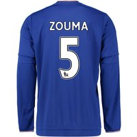 2015-2016 Chelsea Home Long Sleeve Shirt (Zouma 5)