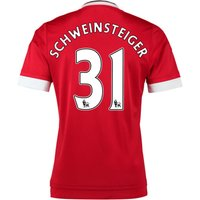 2015-16 Man United Home Shirt (schweinsteiger 31) - Kids