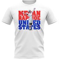 Image of Megan Rapinoe United States-Player T-Shirt (White)