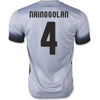 2015-16 Roma 3rd Shirt (Nainggolan 4)