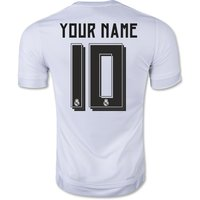 2015-16 Real Madrid Home Shirt (your Name) -kids
