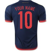 2015-2016 Colombia Adidas Away Shirt (Your Name)