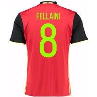 2016-2017 Belgium Home Shirt (Fellaini 8) - Kids