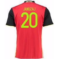 2016-2017 Belgium Home Shirt (Januzaj 20) - Kids